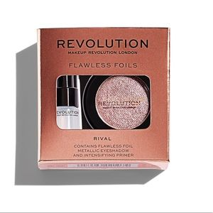 Makeup Revolution Makeup - Bundle Eyeshadow & Primer Flawless Foils